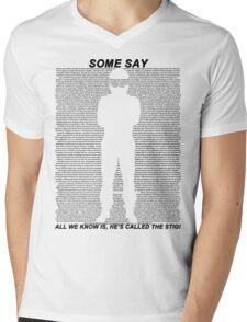 The Stig Mens V-Neck T-Shirt