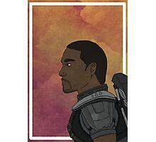 Falcon - Portrait Photographic Print
