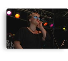 Tina Harrod Band - Backing Singer, Jazz/Blues, 2009 Canvas Print