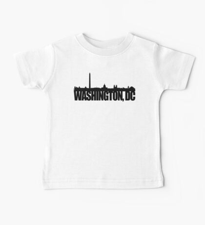 DC Skyline - black Baby Tee