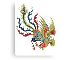 Chinese Rooster Asian Art Canvas Print