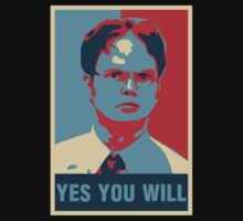 Dwight K. Schrute: Yes you will Kids Clothes