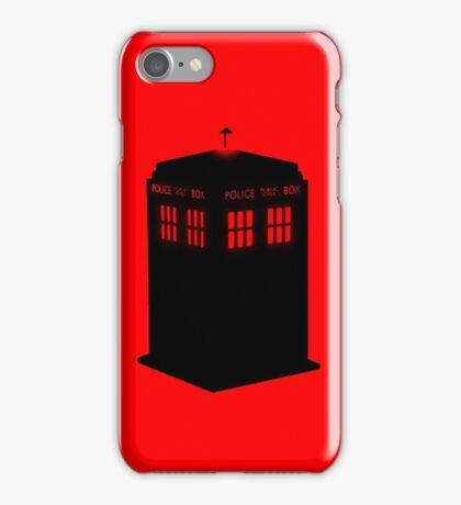 Evil TARDIS iPhone Case/Skin