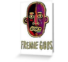 Freddie Gibbs - Old English Greeting Card