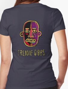 Freddie Gibbs - Old English Womens Fitted T-Shirt