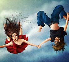 Free Falling by Lydia Kurnia