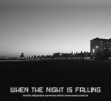 When The Night Is Falling by Martín Alejandro Carmona Selva