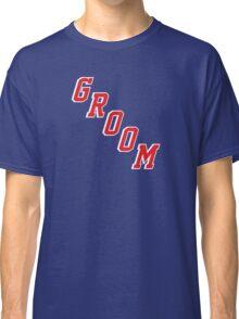 Blue Shirt Groom Classic T-Shirt