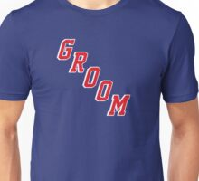 Blue Shirt Groom Unisex T-Shirt