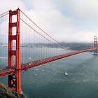 San Francisco Golden Gate Bridge  by nkorompilas