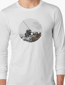 how many people does it take to kill a cockroach? Long Sleeve T-Shirt