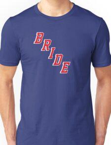 Blue Shirt Bride Unisex T-Shirt
