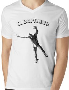 The Captain Mens V-Neck T-Shirt