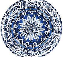Blue Labyrinth  by corynnlarkin