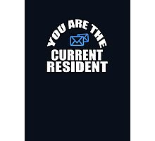 Mail Carrier - Current Resident Photographic Print