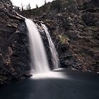 waterfall in placerville  by nkorompilas
