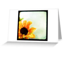 Sunflower II TTV  Greeting Card