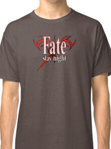 Fate/Stay Night Logo Classic T-Shirt