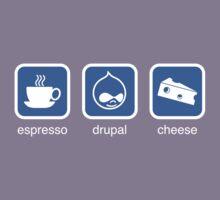 Espresso Drupal Cheese (Blue) by cafuego