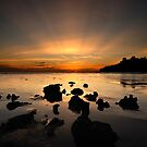 Sunset at Pulau Sayak by T.O. Ang