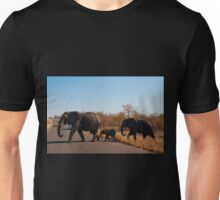 Take care crossing the road! Unisex T-Shirt