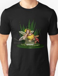 Call me -  Fairy Sat On Phone Using Mobile T-Shirt