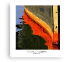 Nautical Closeups 10 Canvas Print