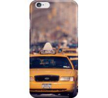 5th Avenue Cabs iPhone Case/Skin