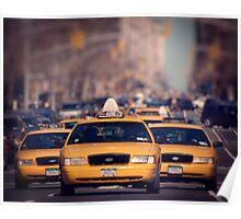 5th Avenue Cabs Poster