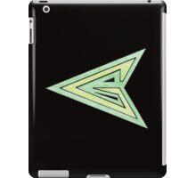 Green Arrow Symbol iPad Case/Skin