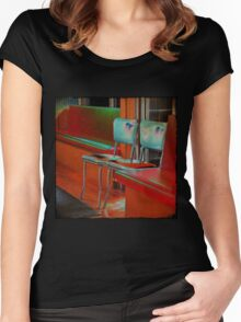 bubba's chairs Women's Fitted Scoop T-Shirt