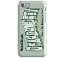 Greetings from Celadon City iPhone Case/Skin