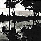 Ink Landscape by jomillwood