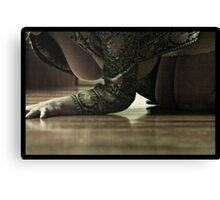 The floors hold my secrets Canvas Print