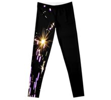 Some People Just Burn Brighter Leggings