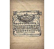 Typeymachine Photographic Print