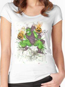 Green Goblin Women's Fitted Scoop T-Shirt
