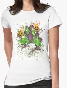 Green Goblin Womens Fitted T-Shirt