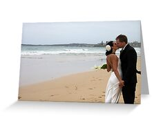 Beach Wedding - Cronulla Greeting Card
