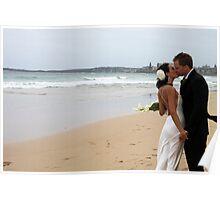 Beach Wedding - Cronulla Poster