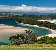 Minnamurra River - the South Coast of NSW by Jackie Hewett