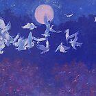 Egret Flight by Cary McAulay