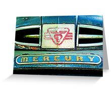 mercury truck Greeting Card