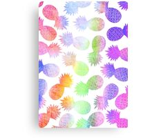 RAINBOW - PINEAPPLE by Kohii Love and Toso Journ Canvas Print
