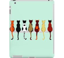 Fence sitters (Green) iPad Case/Skin