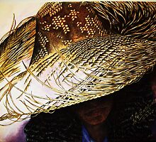 Straw Hat by Julie Ann Caldwell