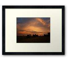 The Edge of Suburbia Framed Print