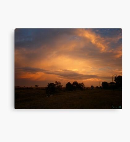 The Edge of Suburbia Canvas Print