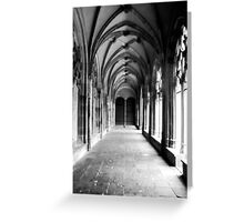 Dark pathway Greeting Card