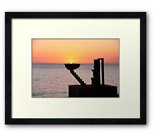 Sunrise - Bondi Beach, Australia Framed Print